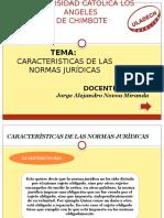 CARACTERISTICAS DE LA logica-juridica-exposicion