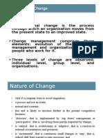 Org ChangeChange