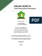 Cover Koordinasi Dan Komunikasi Kesehatan