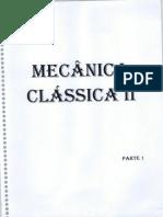Caderno Mecânica Clássica II Parte01