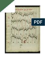 Diminuzioni Esacordo Alterazioni Paumann Conrad Lochamer-liederbuch