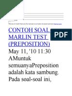 marlin test.docx
