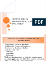 INTRODUCTION TO SUPPLYCHAIN