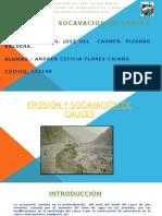 Erosión y Socavación de Cauces Andrea