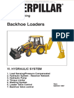 Manual Training Hydraulic System Caterpillar Backhoe Loaders