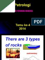 Petrologi 4 RFM 2014