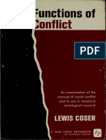 Lewis a. Coser-The Functions of Social Conflict-Free Press (1956)