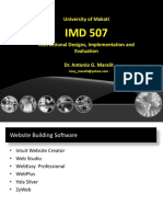 IMD 507 Lecture