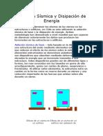 Aislación Sísmica y Disipación de Energía