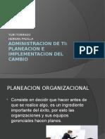 Administracion y planeacion organizacional