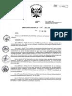 Protocolo Nacional Para El Monitoreo de La Calidad de Los Recursos Hídricos