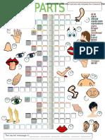 12656 Body Parts Crossword