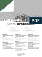 Correction Livre Francais