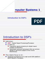 Ch1-Introduction to DSP's