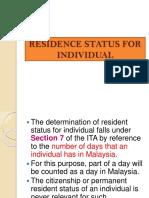 Mas2123 Residence Status Sept2016