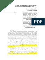 (DES) CONSTRUÇÃO DA IDENTIDADE LATINO-AMERICANA