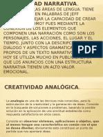 Presentación Lectoescritura (Creatividad Analogica)