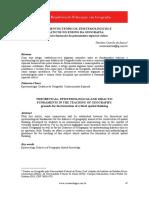 Fundamentos Teóricos, Epistemológicos e Didáticos No Ensino Da Geografia - Bases Para a Formação Do Pensamento Espacial Crítico