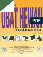 IOHI (Indeks Obat Hewan Indonesia)-2005
