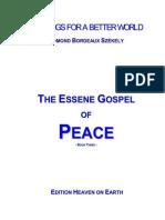 Edmond Szekely -The Essene Gospel of Peace 3