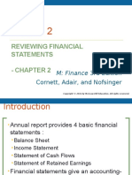 Lecture 2 (Understanding Financial Statements and Cash Flows)