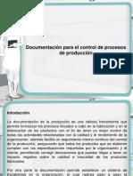 Documentacion Para El Control de Procesos de Produccion