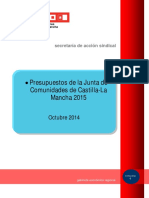 Pub136563 Presupuestos de La Junta de Comunidades de Castilla-La Mancha 2015