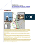 Rockets on Golan