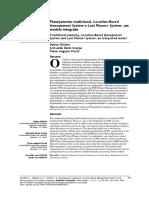 2016 - OLIVIERI GRANJA e PICCHI - Planejamento Tradicional, Location-Based Management System e Last Planner System - Um Modelo Integrado