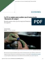 La UE Se Conjura Para Acabar Con El Comercio de 'Diamantes de Sangre' _ Economía _ EL PAÍS