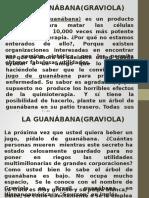 Fortaleciendo Salud Guanabana