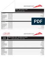 61D — Al Ghubaiba Bus Station to Nad Al Shiba Clinic Dubai Bus Service Timetable