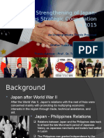 Japan-Philippines Strategic Cooperation 2015