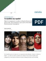 Hijos de Inmigrantes_ Yo También Soy Español