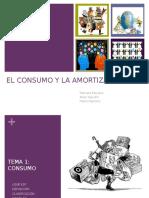 El Consumo y la Amortización