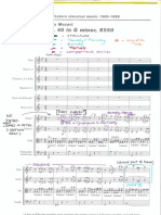 Haydn Symphony No  104 - 3rd Movement - ANNOTATED SCORE