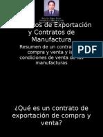 Contratos de Exportacion Compra y Venta