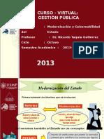 Modernizacion del perú