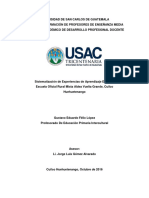 Sistematizacion Modelo