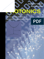 [YARIV] - Photonics - Optical Electronics in Modern Communications.pdf
