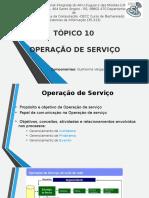 Operação de Serviço