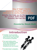 Bulk-filling of High C-factor Posterior Cavities