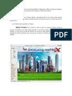 La manera de trabajar dentro del sistema MaPreX.docx