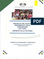 Plan de Desarrollo Concertado Distrito de La Victoria