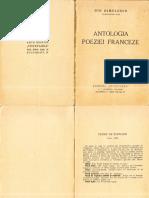 Antologia Poeziei Franceze-Ion Dimulescu