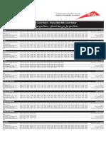 F13 — Dubai Mall MS Land Side1 to Dubai Mall MS Land Side2 Dubai Bus Service Timetable