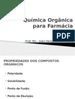 Química Orgânica - Farmácia