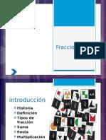fracciones 2 para secundaria y sus tipos de uso en presentacion.