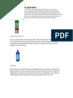 Destilados Del Petróleo