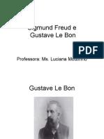 Aula Le Bon e Freud